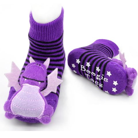 Boogie Toes Rattle Socks - Dragon