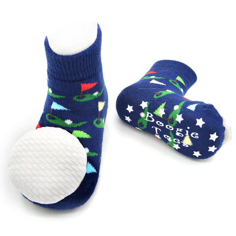Boogie Toes Rattle Socks - Golf Ball