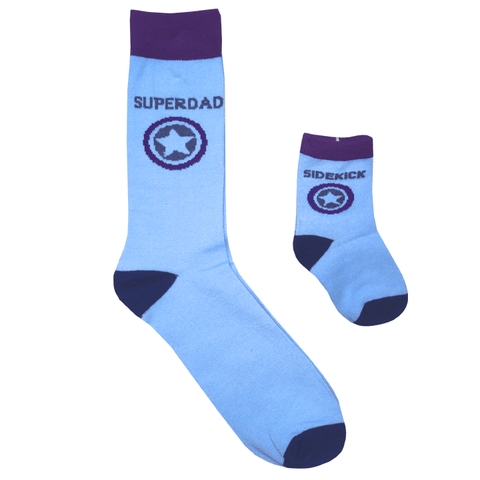 Daddy & Me Socks - Superdad