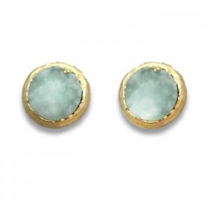 Earrings - Aqua