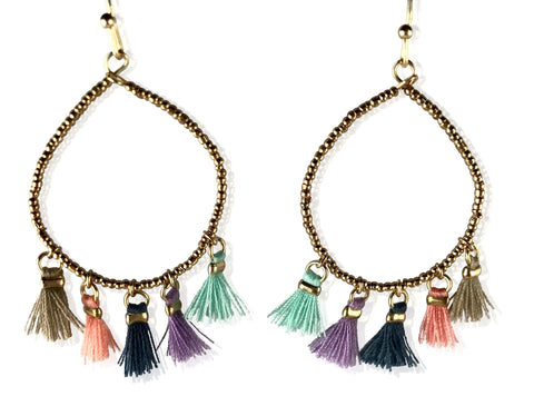 Earrings - Fringe Tassel