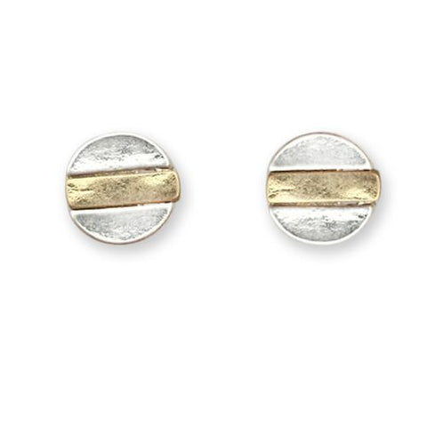 Earrings - Two Tone Post
