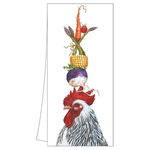 Kitchen Towel - The Crucial Pea Rooster