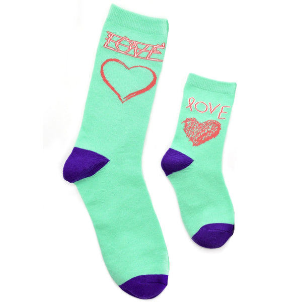 Mommy & Me Socks - Love