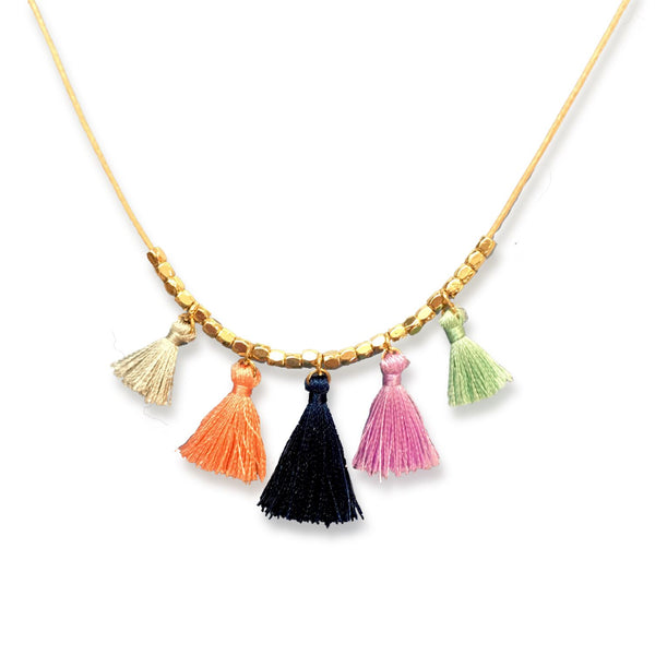 Necklace - Fringe Tassels