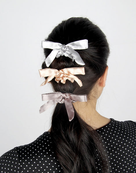 Hair Scrunchie 5-pack - Chic Neutrals