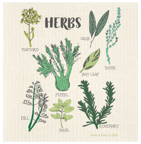 Swedish Cloth - Herbs