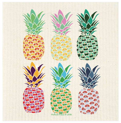 Swedish Cloth - Pineapples