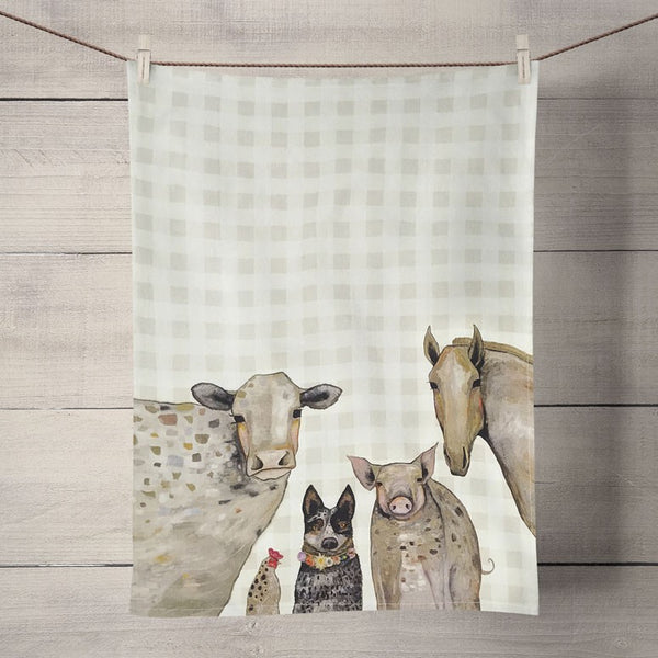 Kitchen Towel - Cattle Dog and Crew
