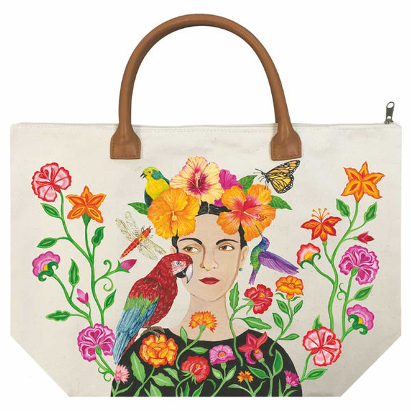 Canvas Tote/Purse - La Dolo Rose