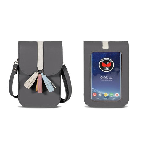 Touchscreen Purse Arizona - Pebble Grey