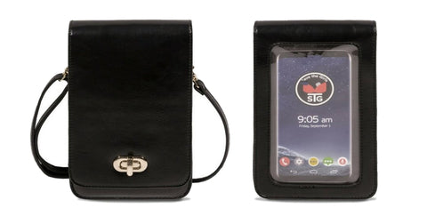 Touchscreen Purse Classic Elegance - Black