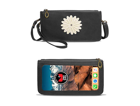 Touchscreen Purse Daisy