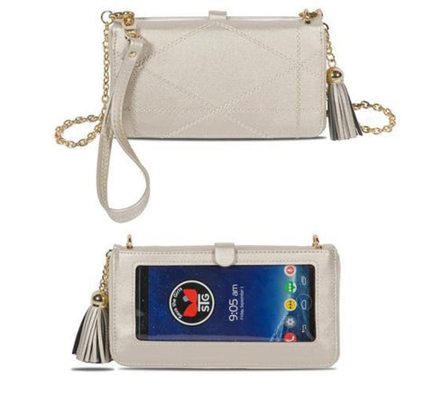 Touchscreen Purse Allure - Champagne