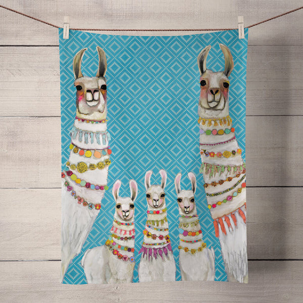 Kitchen Towel - Llama Necklaces