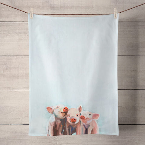 Kitchen Towel - Three Little Piggies