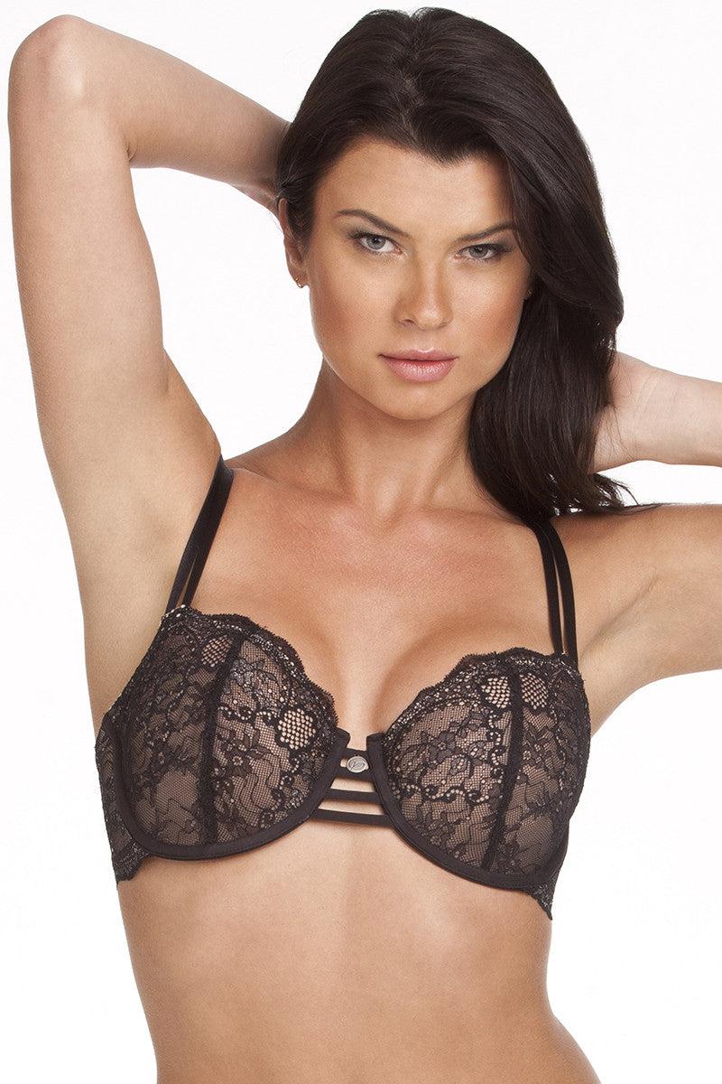 64ba680d35bf Florence Push-Up Bra in Honeydew Lace - Zenbah