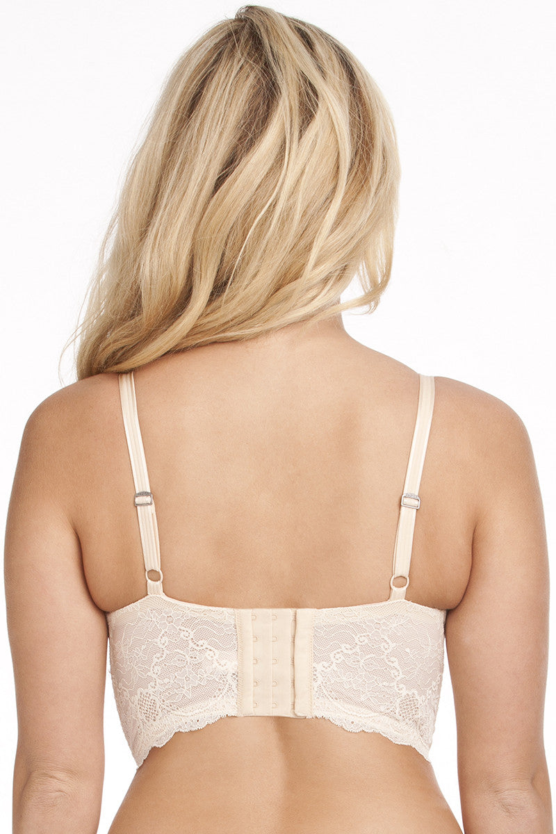 Longline Push-Up Bra - Ivory
