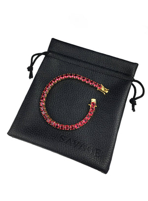 Bracelet - Blood Diamond Tennis Bracelet X Gold
