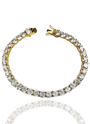 Bracelet - Diamond Tennis Bracelet X Gold