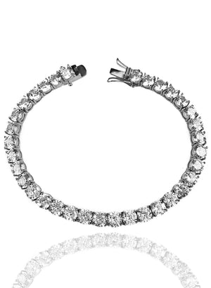 Bracelet - Diamond Tennis Bracelet X White Gold