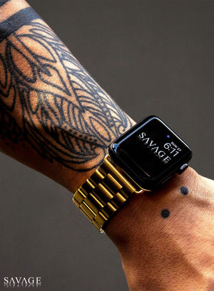 Lord Band X 18k Gold For Apple Watch