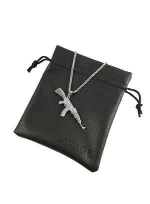 Necklace - AK-47 X Stainless