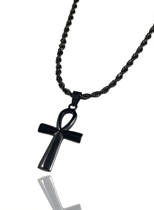 Necklace - Ankh X BLΛCK
