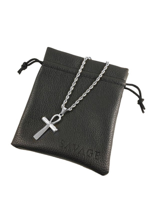Necklace - Ankh X Stainless