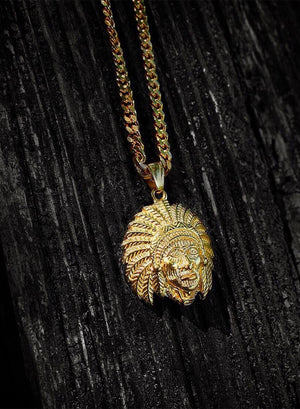 Necklace - Apache Chief X 18k Gold