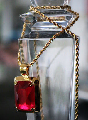 Necklace - Blood Diamond X 18k Gold