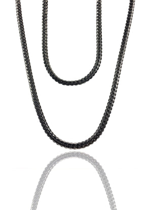 Necklace - Cadena Chains Layered Set X BLΛCK