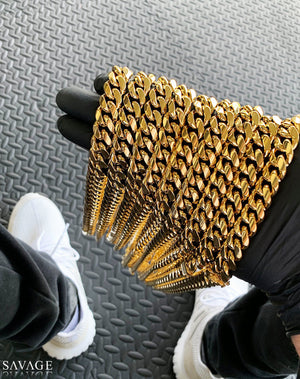 Cuban Link Chain x Gold