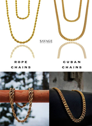 Necklace - Custom Layered Necklace Set X Gold