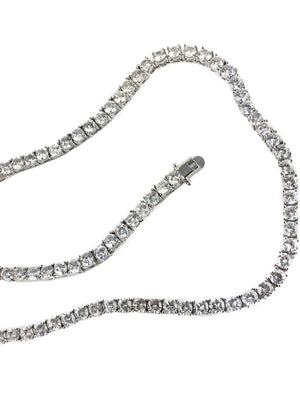 Necklace - Diamond Tennis Chain X Stainless