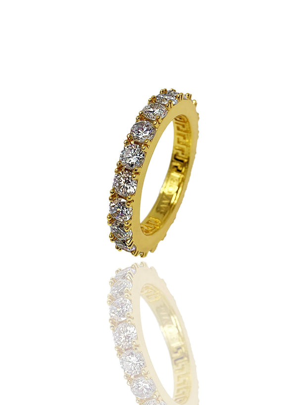Necklace - Eternity Ring X Gold