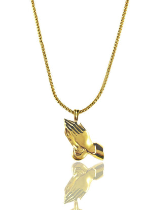 Necklace - Hands X 18k Gold