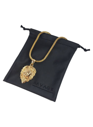 Necklace - King Lion X 18k Gold
