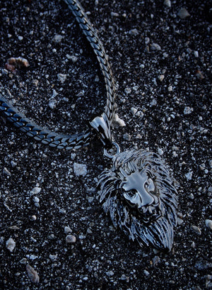 Necklace - King Lion X BLΛCK