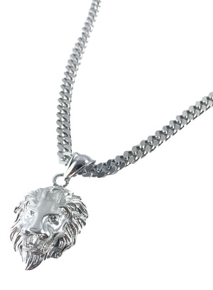 Necklace - Lion X Stainless
