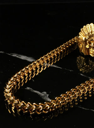 Necklace - Magnus Chain & Bracelet Set X Gold