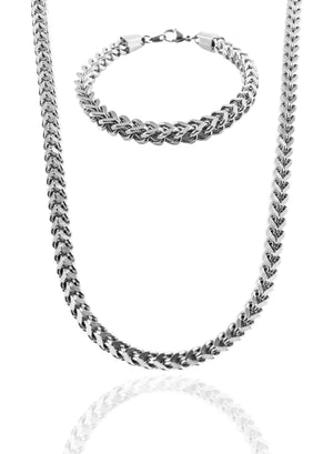 Necklace - Magnus Chain & Bracelet Set X Stainless