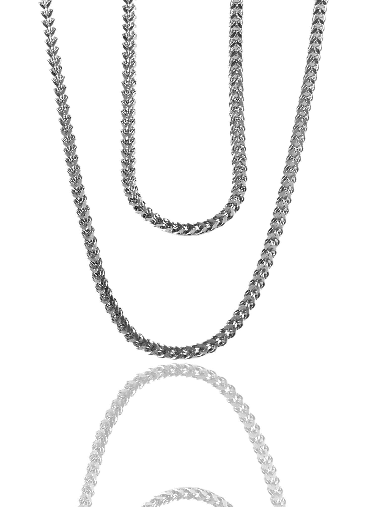 Necklace - Magnus Chains Layered Set X Stainless