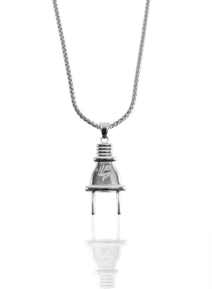 Necklace - Plug X Stainless