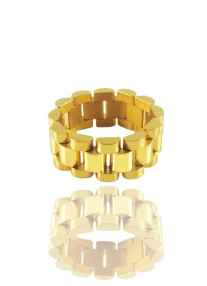 Necklace - Presidential Ring X 18k Gold