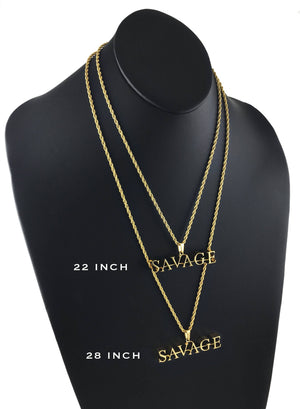 Necklace - SΛVΛGE X 18k Gold