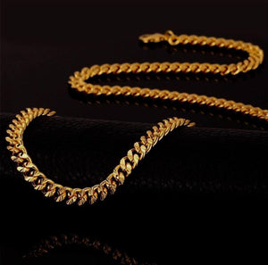 Necklace - The Apache Chain X 18k Gold