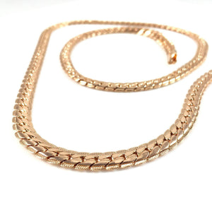 Necklace - The Cadena Chain X 18k Rose Gold