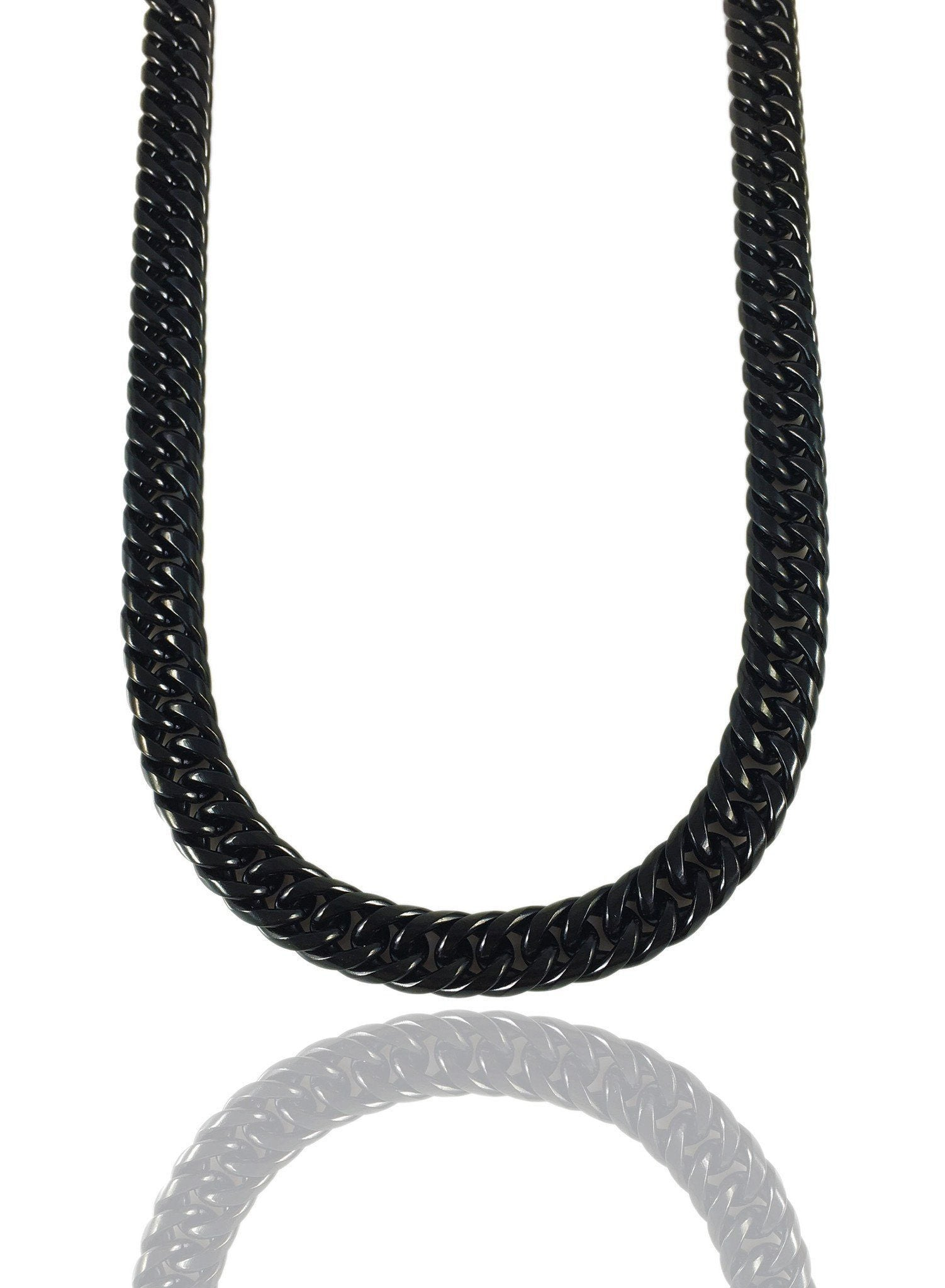 Necklace - The Cuban Link Chain X BLΛCK