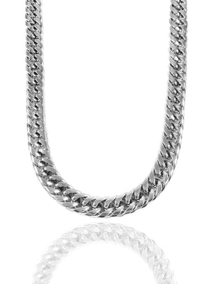 Necklace - The Cuban Link Chain X White Gold